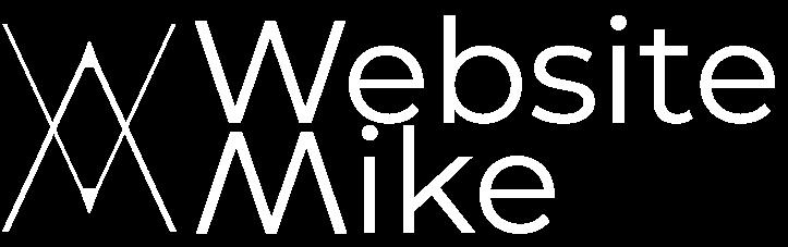WebsiteMike Logo with white everything