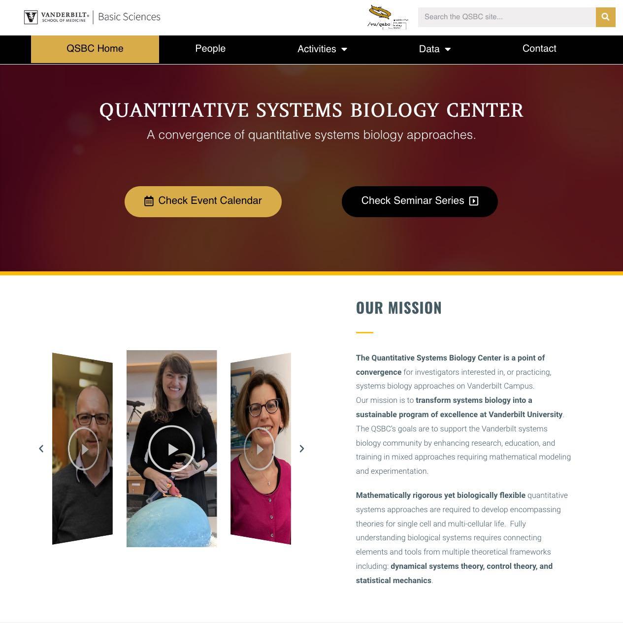 Vanderbilt QSBC Homepage